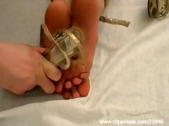 real foot