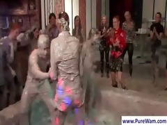 girls mud